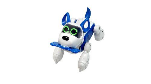 Fnac.com : Robot interactif chien Silverlit Pupbo Bleu - Autre véhicule radio-commandé. Achat et vente de jouets, jeux de société, produits de puériculture. Découvrez les Univers Playmobil, Légo, FisherPrice, Vtech ainsi que les grandes marques de puéricu