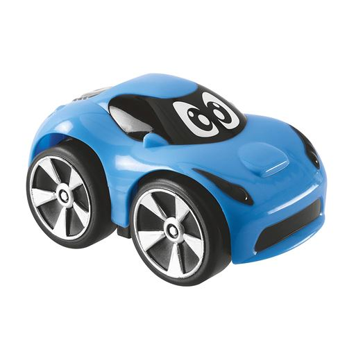 Mini voiture de course Chicco Turbo Team Bond Bleu
