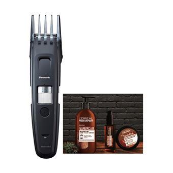 Pack Panasonic GB96 Tondeuse barbe et 3 Soins de barbe L'Oréal Men Expert