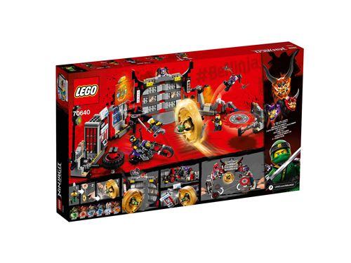 Lego® 70640 De Du Qg Des Fils Lego Gang Le Ninjago® Garmadon EIbH9WeD2Y