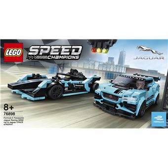 LEGO® Speed Champions 76898 Formula E Panasonic Jaguar Racing GEN2 & Jaguar I-PACE eTROPHY