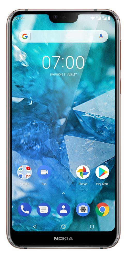 Smartphone Nokia 7.1 Double SIM 32 Go Argent