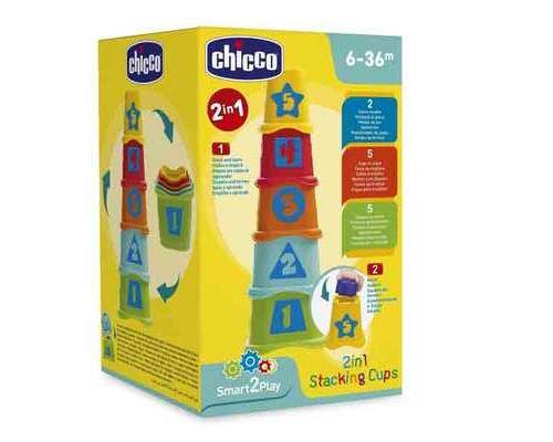 Cubes à empiler 2 en 1 Chicco