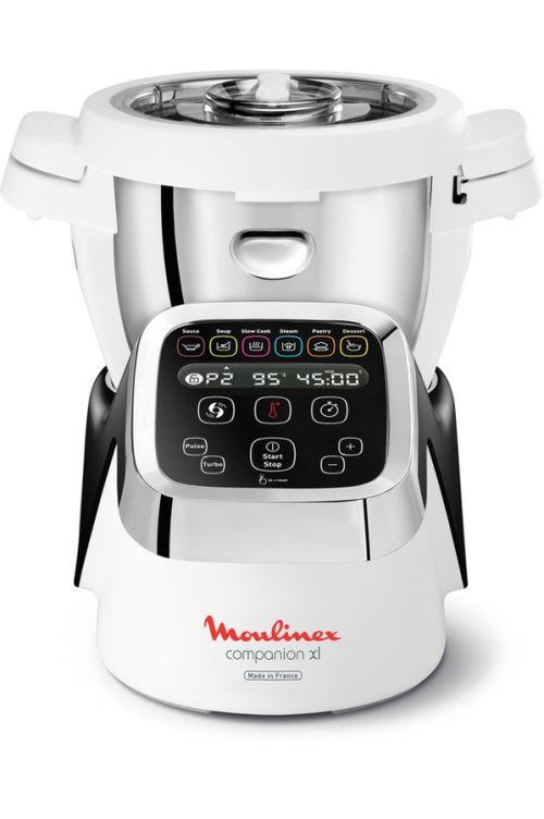Robot cuiseur Moulinex Companion XL HF805810 Noir et Blanc