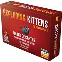 Jeu d'ambiance Asmodée Exploding Kittens