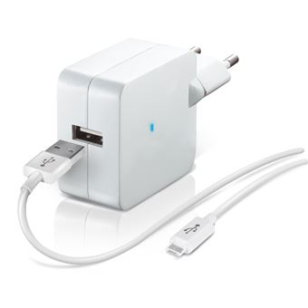 TEMIUM CHARG SECT 1USB+CAB MICRO-USB BLA