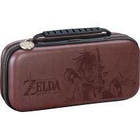 Pochette de transport BigBen Deluxe Officielle The Legend of Zelda Breath of the Wild Marron pour Nintendo Switch