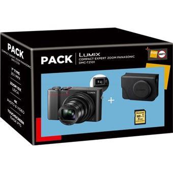 Pack Fnac Panasonic DMC-TZ101 Compact Camera + Hoes + SD-Kaart 16GB