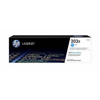 Toner HP LaserJet 203X CF541X Cyan