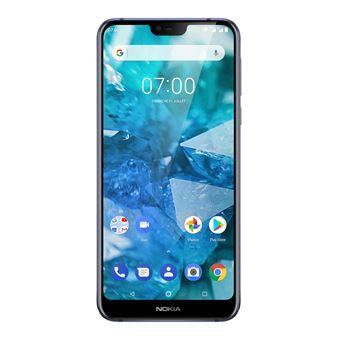 Smartphone Nokia 7.1 32GB Blauw + Dual Sim