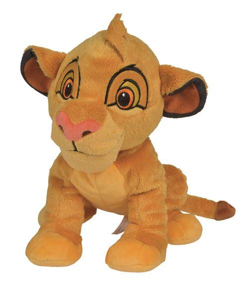 Peluche Disney Le Roi Lion Simba 25 cm