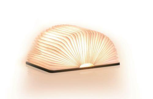 Lumière livre intelligente Gingko Grand Noyer
