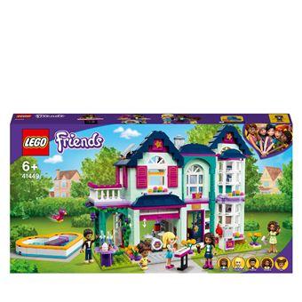 Lego Friends 41449 La Maison Familiale D Andrea Lego Achat Prix Fnac