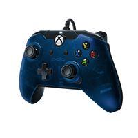 Manette Xbox One et PC filaire PDP Bleu nuit