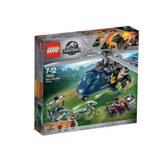 LEGO LA POURSUITE EN HELICOPTERE DE BLUE