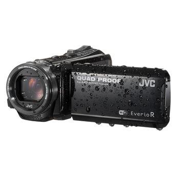 JVC EverioR Quad-Proof GZ-RX601BEU WiFi Camcorder Zwart