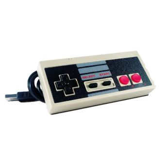 Manette USB PC, MAC et Nintendo NES filaire Freaks And Geeks