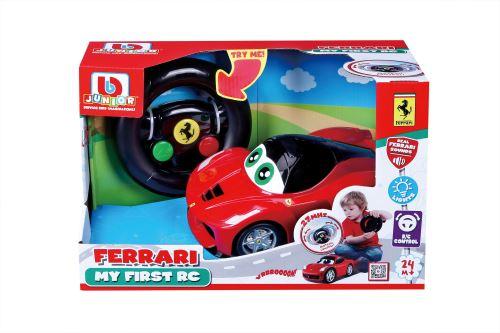 Véhicule Bb Junior Ferrari My First RC LaFerrari Rouge