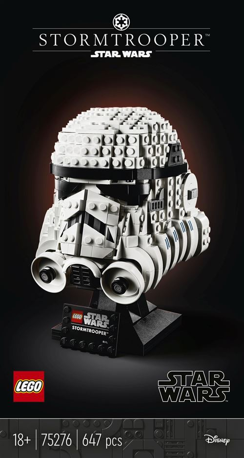 LEGO® Star Wars™ 75276 Le casque de Stormtrooper™