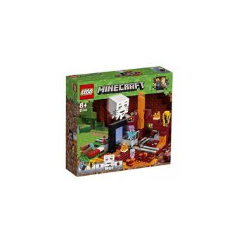 LEGO 21143 MINECRAFT: HET ONDERWERELDPORTAAL-MINECRAFT: