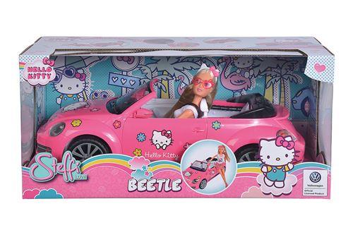 Poupée dans voiture Simba Hello Kitty