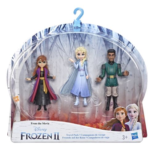 Figurines Disney Frozen La reine des neiges 2 Elsa Anna et Mattias