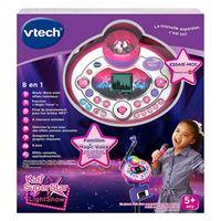 Jouet musical électronique Vtech Superstar Light Show Rose