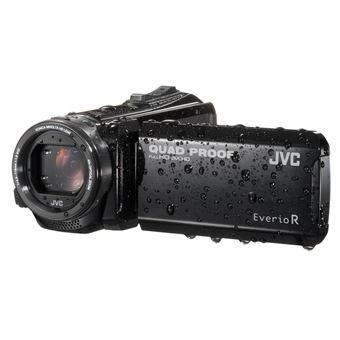 JVC EverioR Quad-Proof GZ-R401BEU Camcorder Zwart