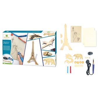 Kit Créatif Au Sycomore Maquettes Et Pyrogravure