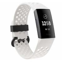 Fitbit Charge HR 3 Special Edition Grafiet Wit