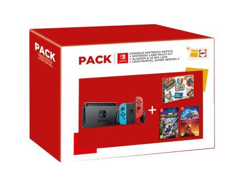 Pack Nintendo Switch avec Nintendo Labo et 2 jeux