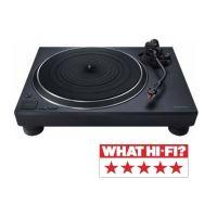Platine vinyle Technics SL-1500CEG-K Noir