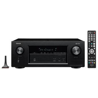 DENON AVR-X 2400H BLACK 7.2 WIFI BT