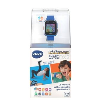 Montre Vtech Smartwatch Connect Kidizoom DX2 Bleu