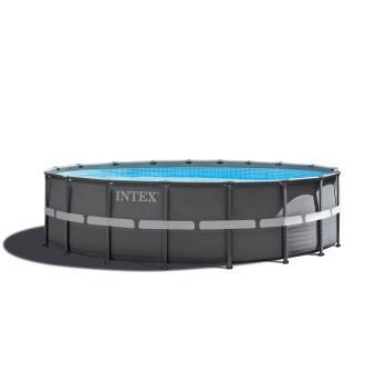 Kit piscine Ultra Frame 5M49 X 1M32 Intex