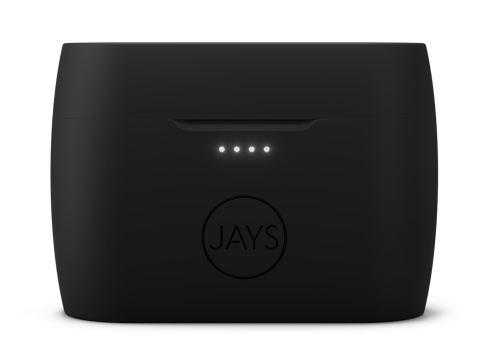 Ecouteurs sans fil True Wireless Jays m-Seven Noir