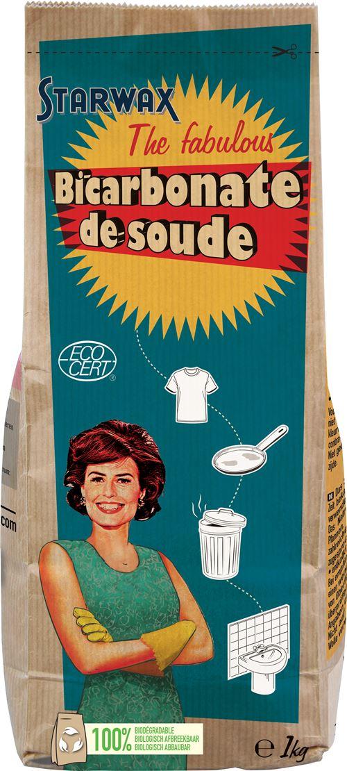 Bicarbonate de soude Starwax The fabulous 1Kg