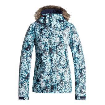 64b93e7035 Veste de snow à capuche Femme Roxy Jet Ski Bleu clair Taille S ...