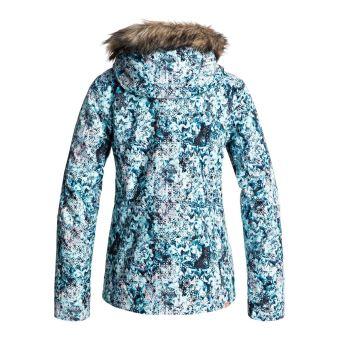 Veste Bleu De Ski Roxy Capuche À Jet Femme Taille S Snow Clair TTxnqaFwr