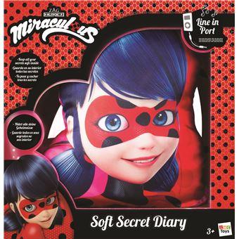 fournir beaucoup de style distinctif variété de dessins et de couleurs Coussin secret IMC Toys Miraculous Ladybug