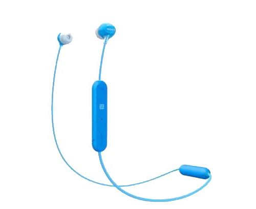 Ecouteurs sans fil Sony WI-C300 Bleu