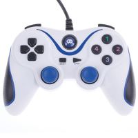 Manette PS3 et PC filaire Freaks And Geeks Blanc