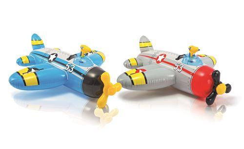 Avion à chevaucher Intex avec pistolet Modèle aléatoire