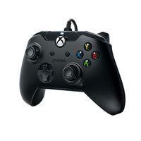 Manette Xbox One et PC filaire PDP Noir corbeau