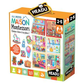 Headu Montessori toucher ABC Alphabets Enfants Éducatif Apprentissage Puzzle