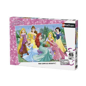 Puzzle 45 pièces Disney Princesses Nathan