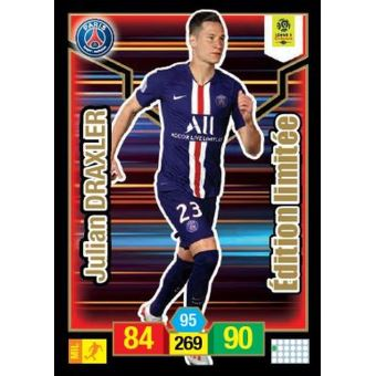 Jeu De Cartes Panini Foot Adrenalyn Xl Ligue 1 Edition Limitee En Boite De Metal Jeu De Cartes Achat Prix Fnac