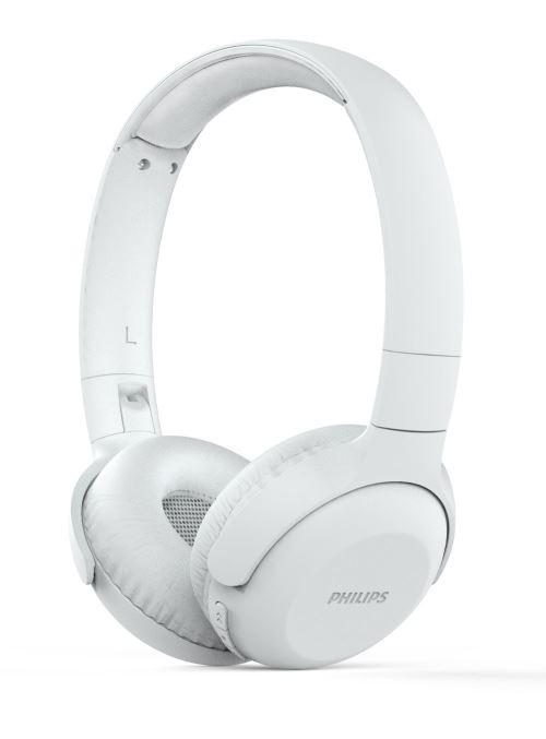 Casque sans fil Bluetooth Philips UH202WT pliable Blanc