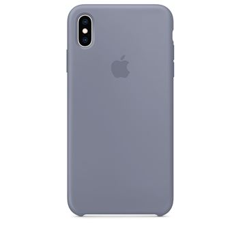 coque apple iphone xs gris lavande