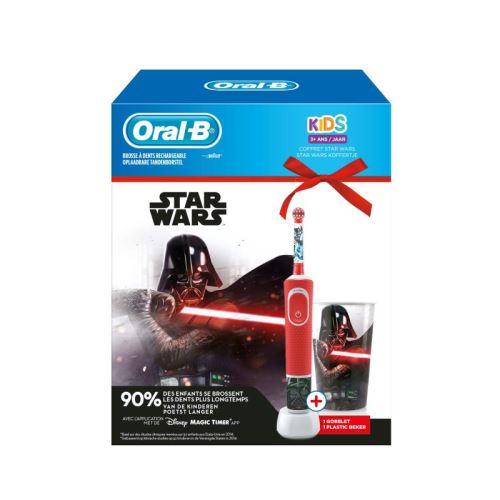Kit Oral B Kids Star Wars Rouge